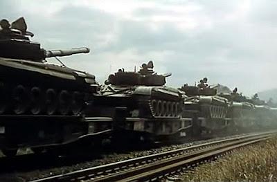 bomby miny karabiny czołgi