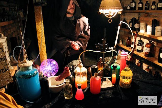 Szalny Alchemik w Kopalni Złota