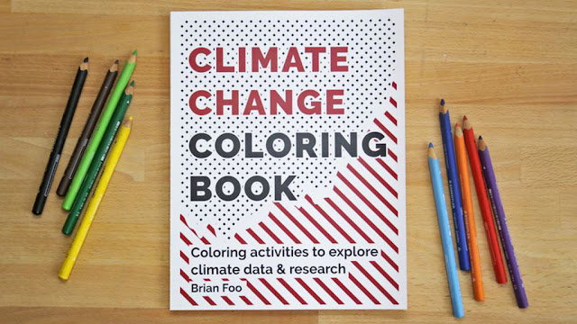 Climate Change Coloring Book: Climate change to color