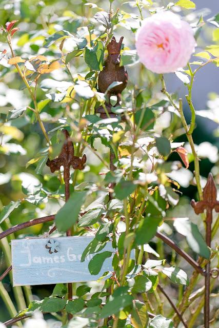 Rosenlabel aus Holz,DIY