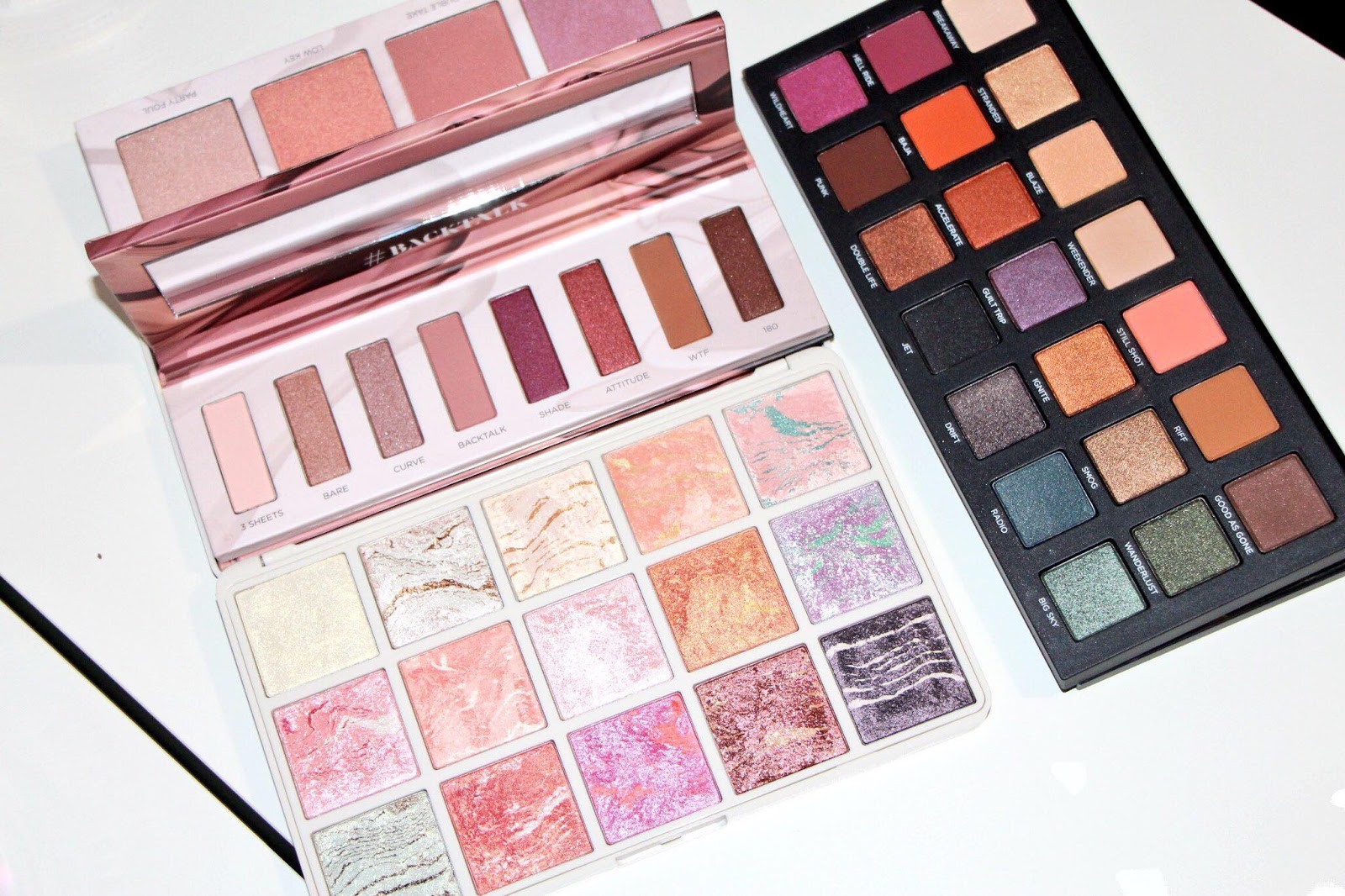 Geri Maree Lets Talk About New Eyeshadow Palettes Mecca Maxima