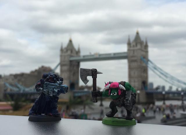 Warhammer in London; 40K in London;
