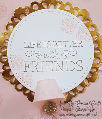Stampin'Up! Just Add Text Made By Gemma Crafts