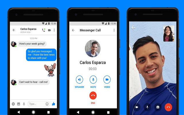 في تحديث جديد: تطبيق فيسبوك Messenger Lite يضيف خاصية الفيديو