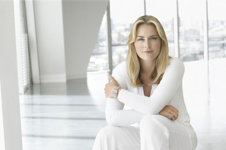 lindsey vonn rolex ambassador in rolex ad for datejust