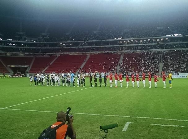 Vila Nova joga bem, mais sai derrotado do Mané Garrincha