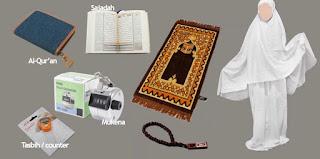 Jual Perlengkapan Haji