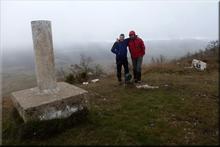 Cerro mendiaren gailurra 901 m. -- 2017ko otsailaren 5ean