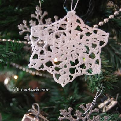 free snowflake crochet patterns-free crochet patterns for snowflakes