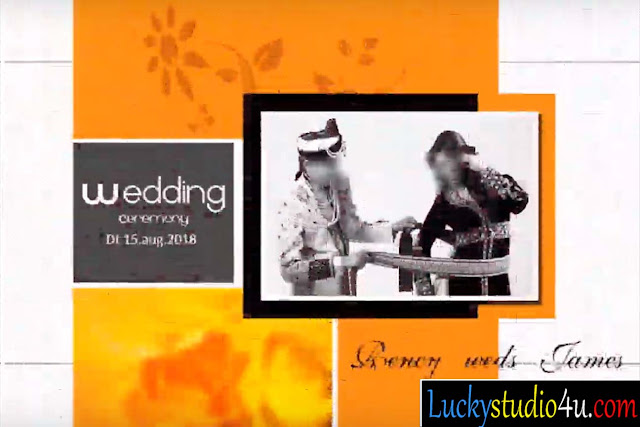 Wedding Album PSD Cover