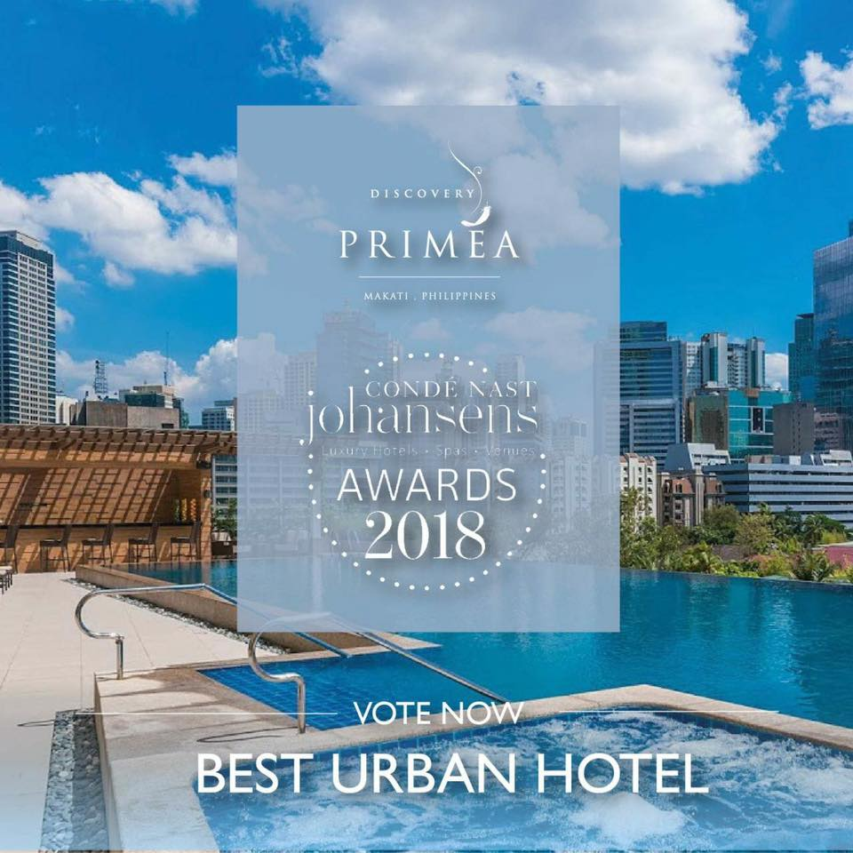 The food alphabet and more philippine hotels vie for for Best hotel awards