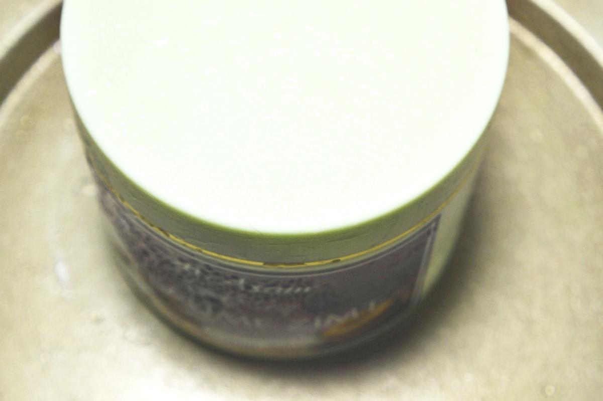 Plum & Cinnamon Body Cream Top View