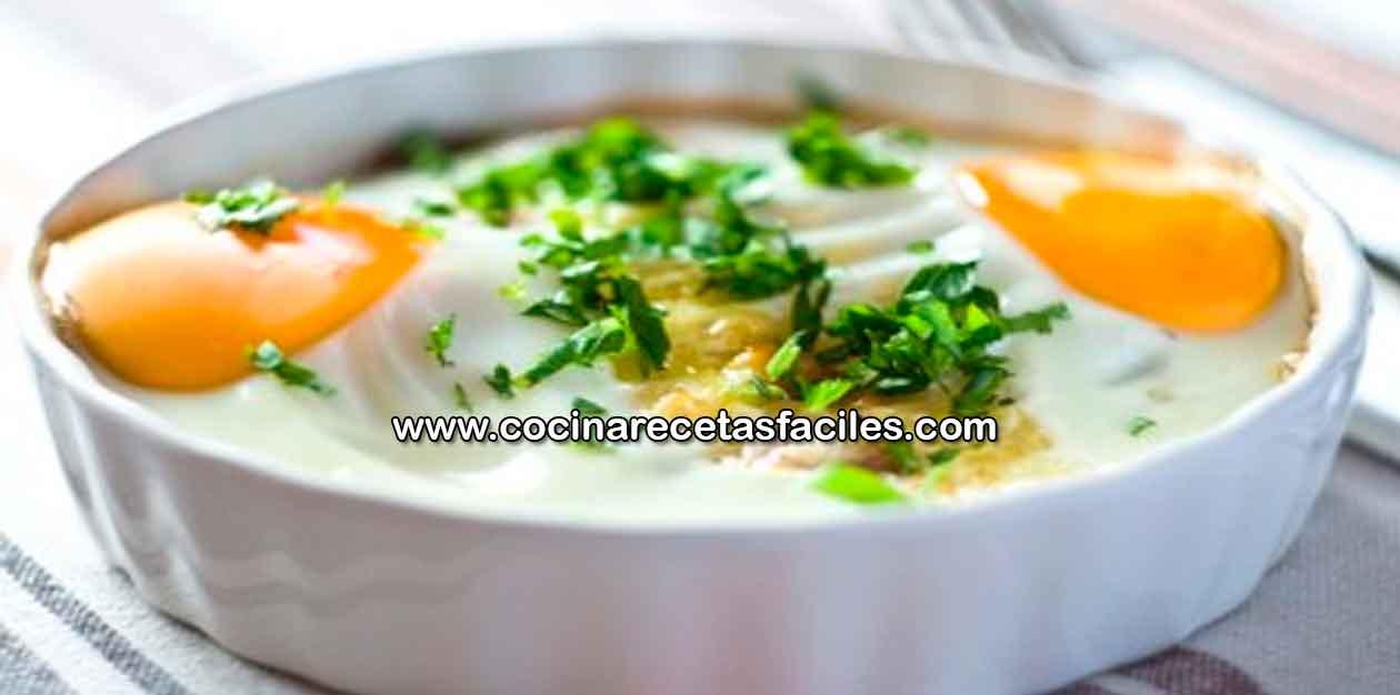 Receta De Sencillos Huevos Al Horno Cocina Recetas Fáciles