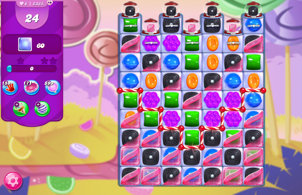 Candy Crush Saga level 6385