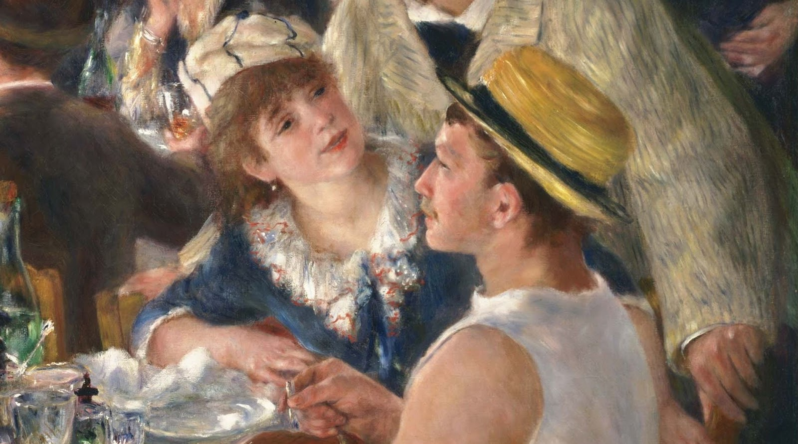 art history formal analysis renoir luncheon of the boating party essay