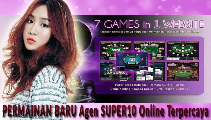 Permainan Baru Agen Super 10 Online terpercaya Qdewi