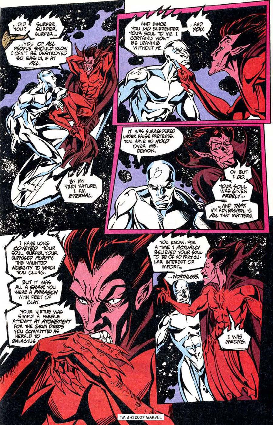 Read online Silver Surfer (1987) comic -  Issue #100 - 9