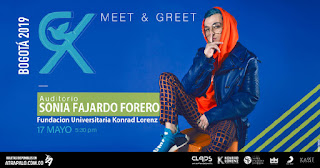 Meet and Greet y Showcase RK en Bogotá, Colombia 2019