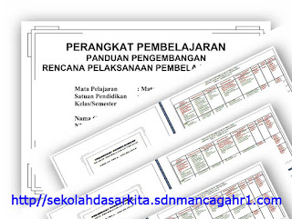 Kumpulan SK, KD, Silabus, RPP, PROTA, PROMES, KKM SD/MI Kelas I s/d 6 Lengkap