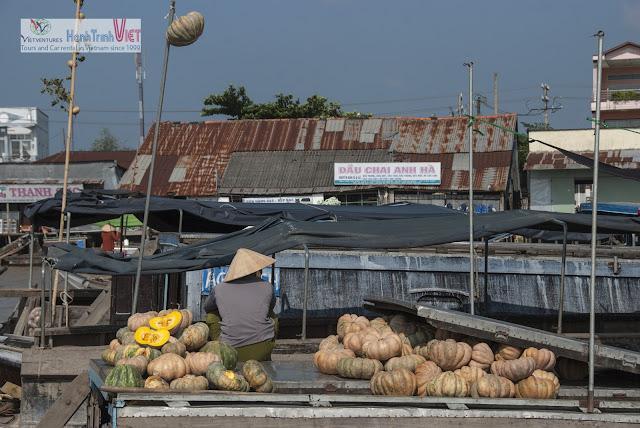 Chợ nổi Cái Răng ở Cần Thơ - Những nét sinh hoạt đời thường