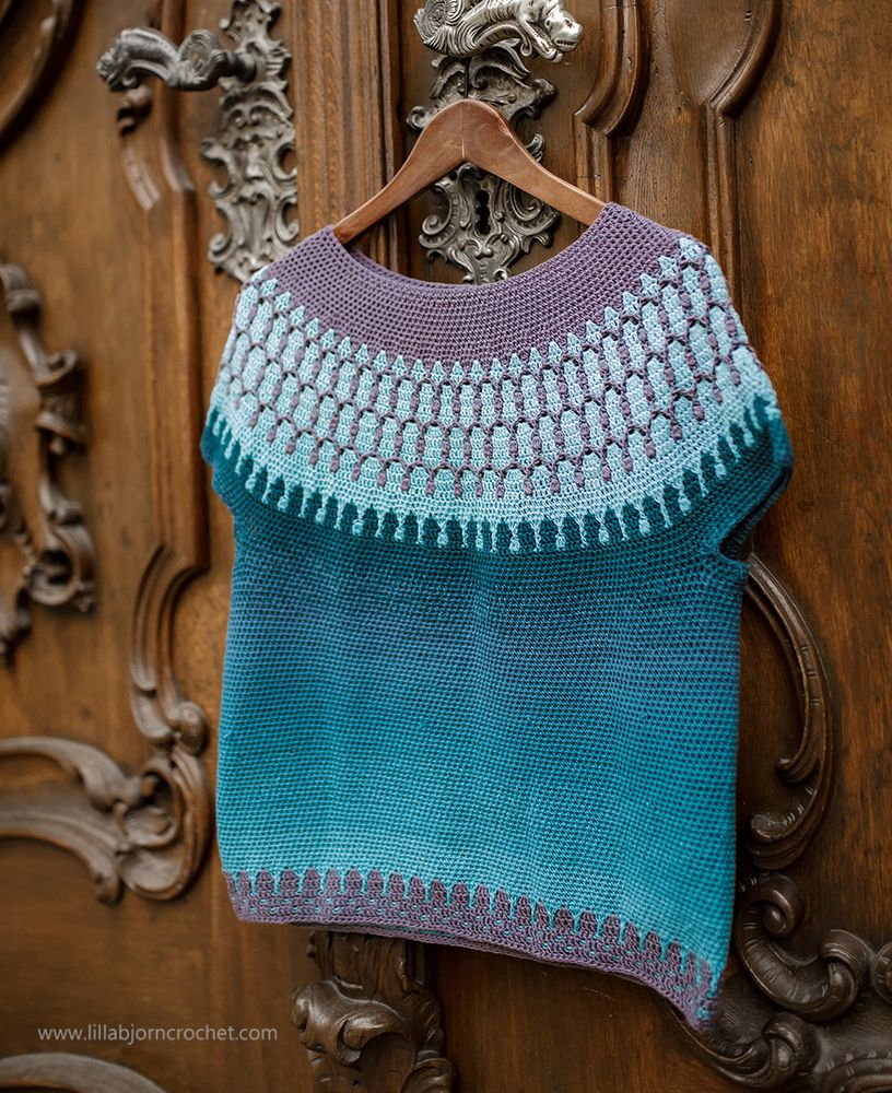 HULDRA Sweater_crochet pattern by www.lillabjorncrochet.com