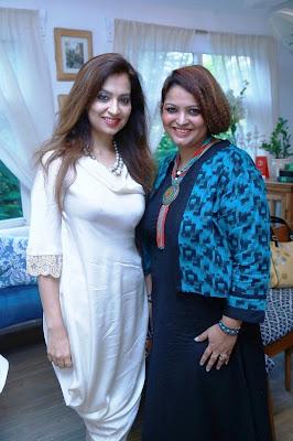 Designer Preeti Ghai and Entrepreneur Ruchiekka Krishnani-min