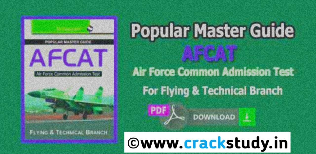 Ebook free download afcat preparation