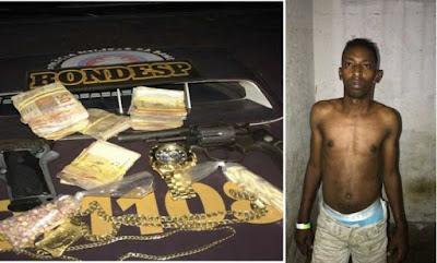 Suspeito de tráfico que ofereceu R$ 10 mil para não ser preso é investigado por participação em 21 homicídios