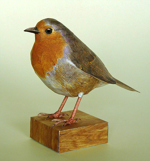 D Primavera Jardín Aves Tarjetas Robin herrerillo Flores Cuadro De Punto De Cruz