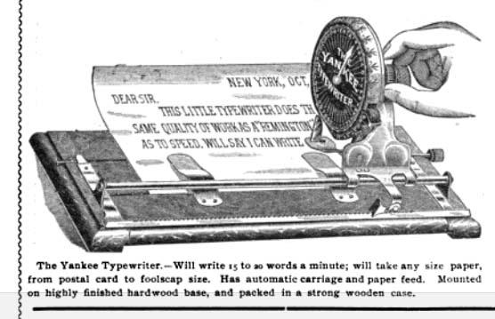 The Typewriter Revolution blog: September 2018