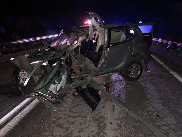 Ηγουμενίτσα: Σοβαρό τροχαίο ατύχημα τα ξημερώματα στον κόμβο Μεσοβουνίου