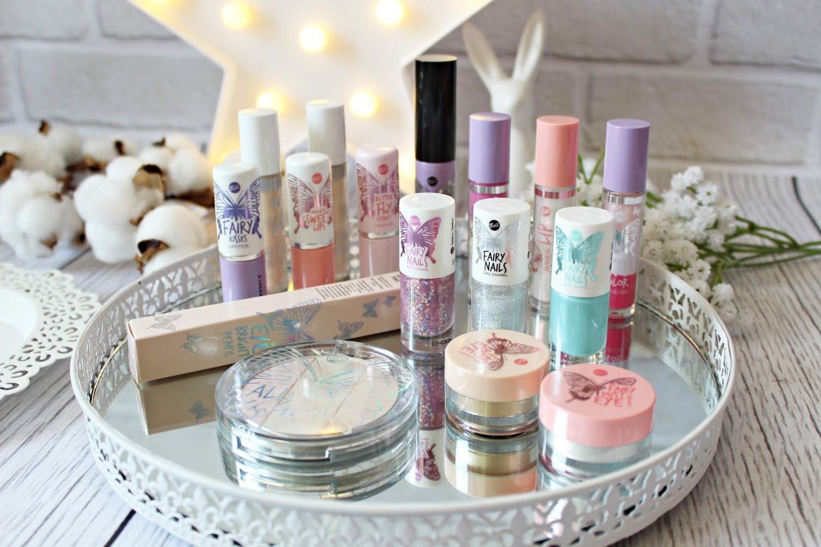 Limitowana seria kosmetyków BELL - FAIRY TALE strefa piękna biedronka