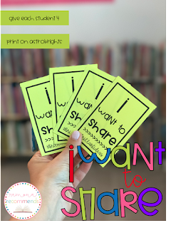 https://www.teacherspayteachers.com/Product/Sharing-Cards-For-Student-Engagment-2455468