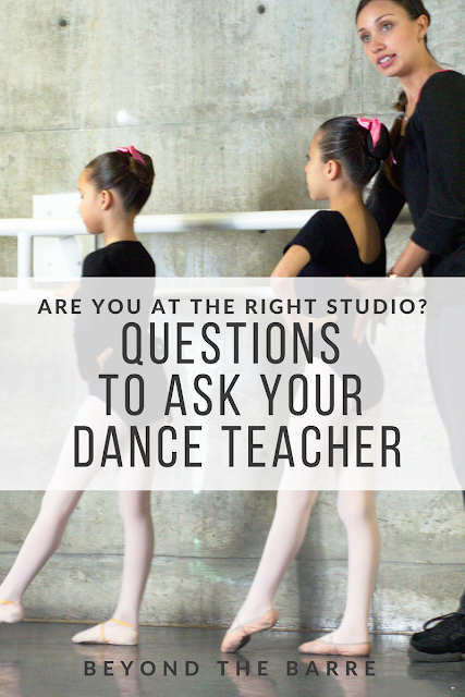 Is Your Dancer In Good Hands? Asking The Right Questions