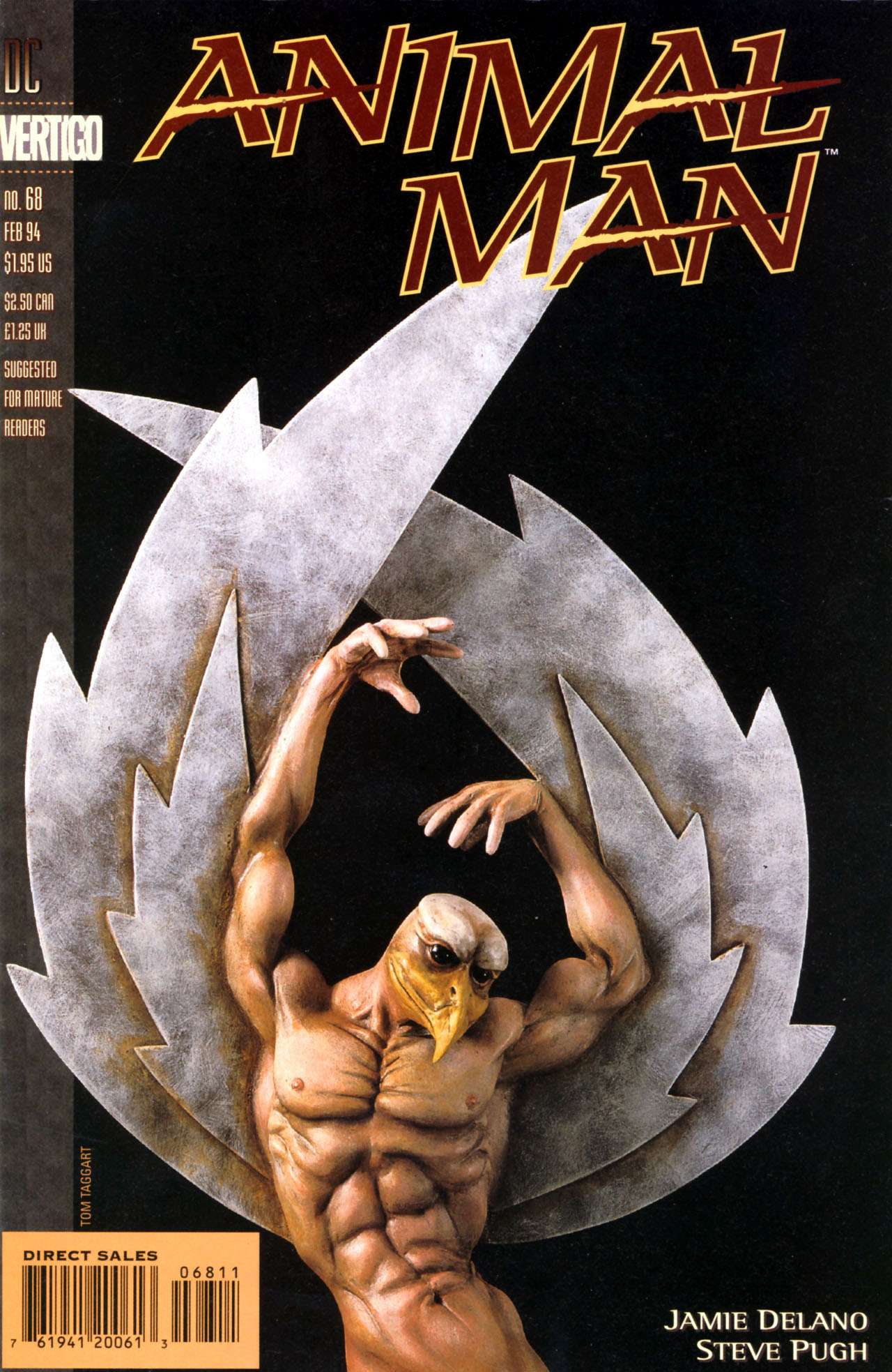 Read online Animal Man (1988) comic -  Issue #68 - 1
