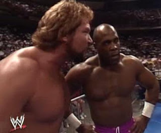 WWF ROYAL RUMBLE 1991 - Ted Dibiase gives Virgil his orders