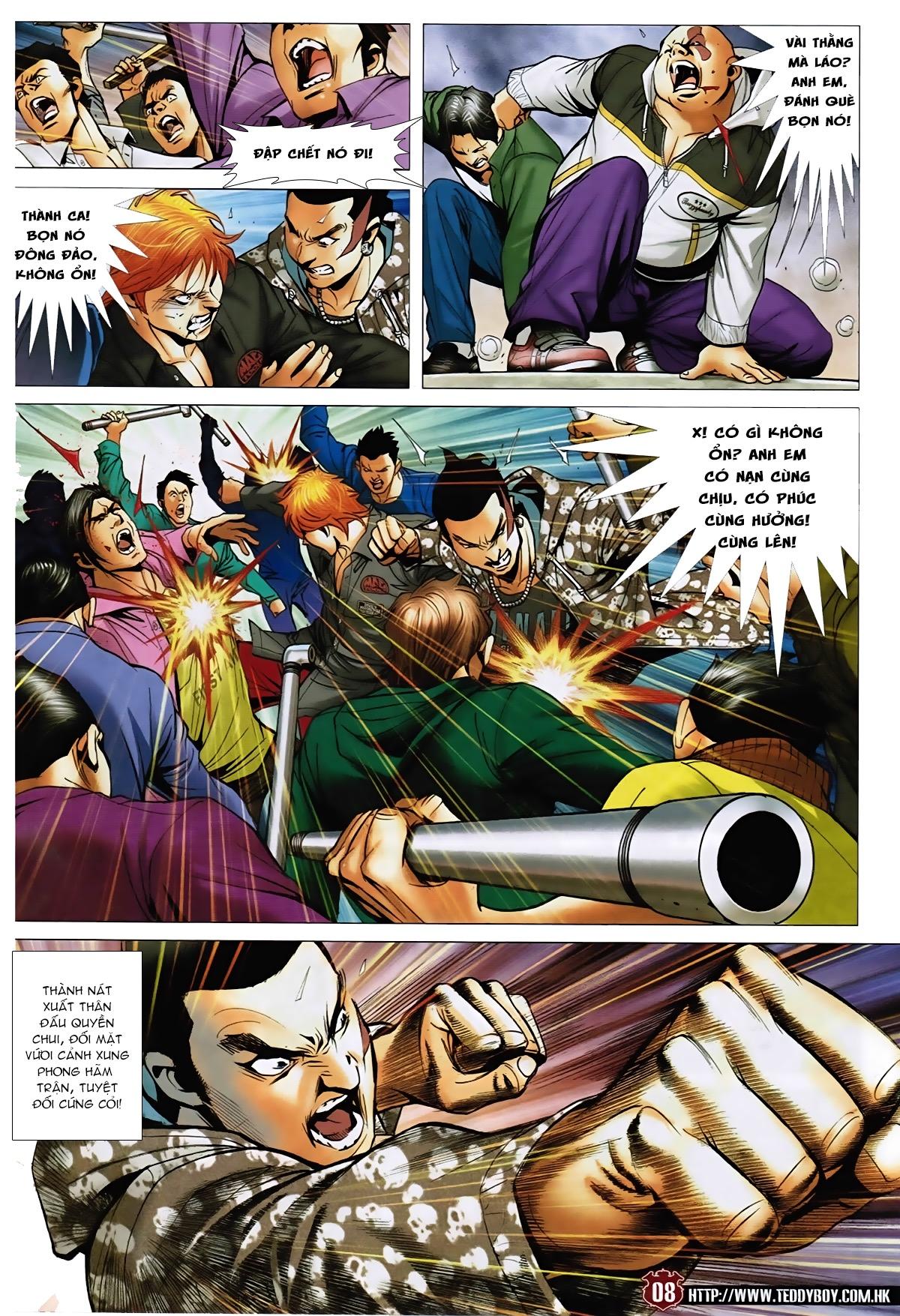 Người Trong Giang Hồ - Chapter 1568: Binh đoàn Hồng Phấn - Pic 6