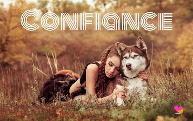 Confiance loup vs humain.