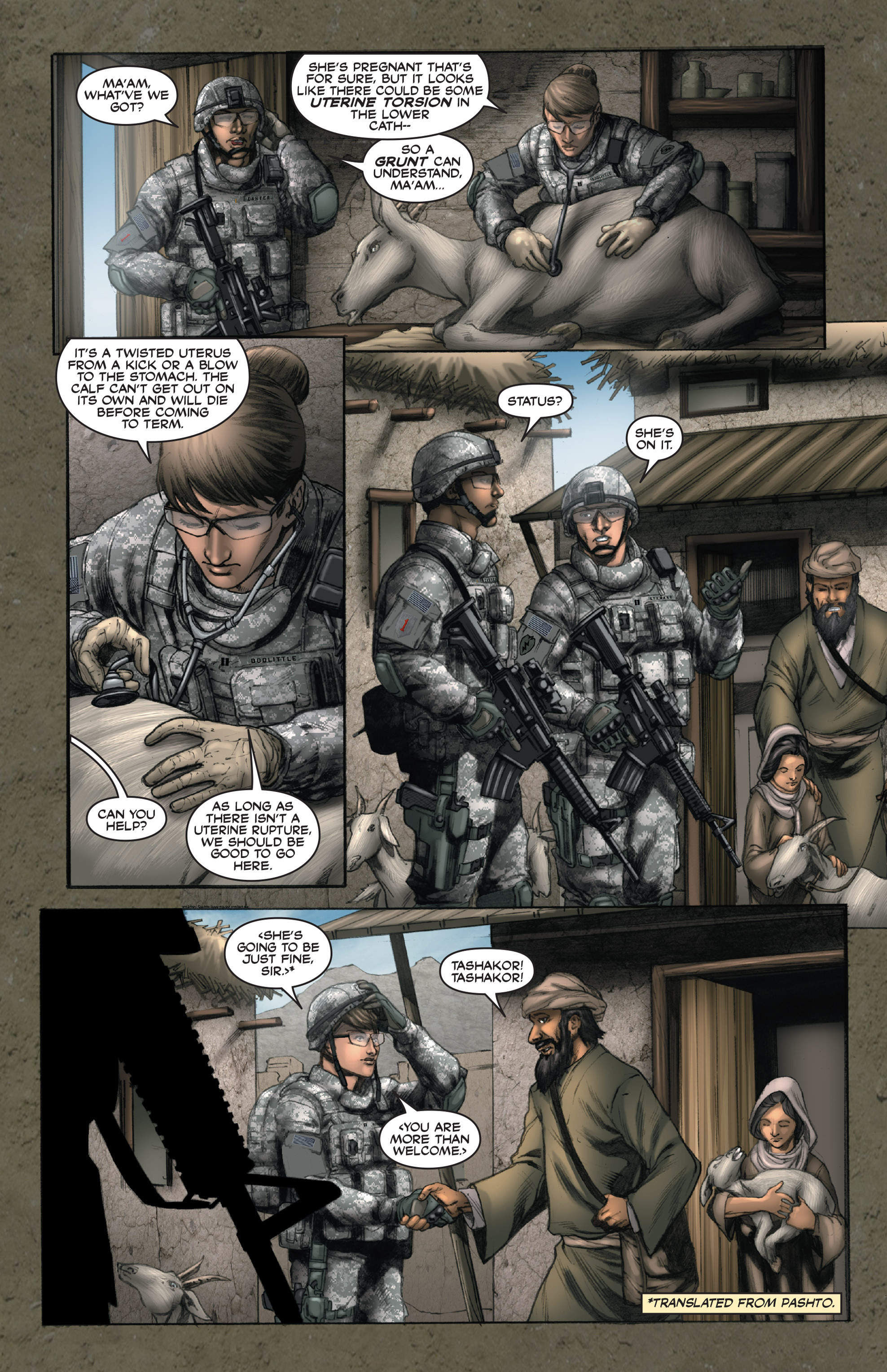 Read online America's Army comic -  Issue #14 - 10