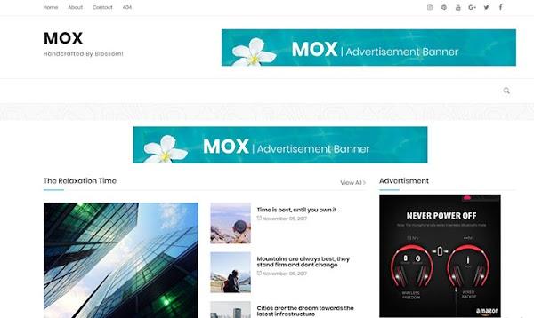 Chia sẻ Mox Blogger Template