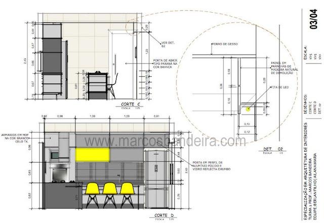 Projeto de Arquitetura de Interiores com SketchUp  Parte 1