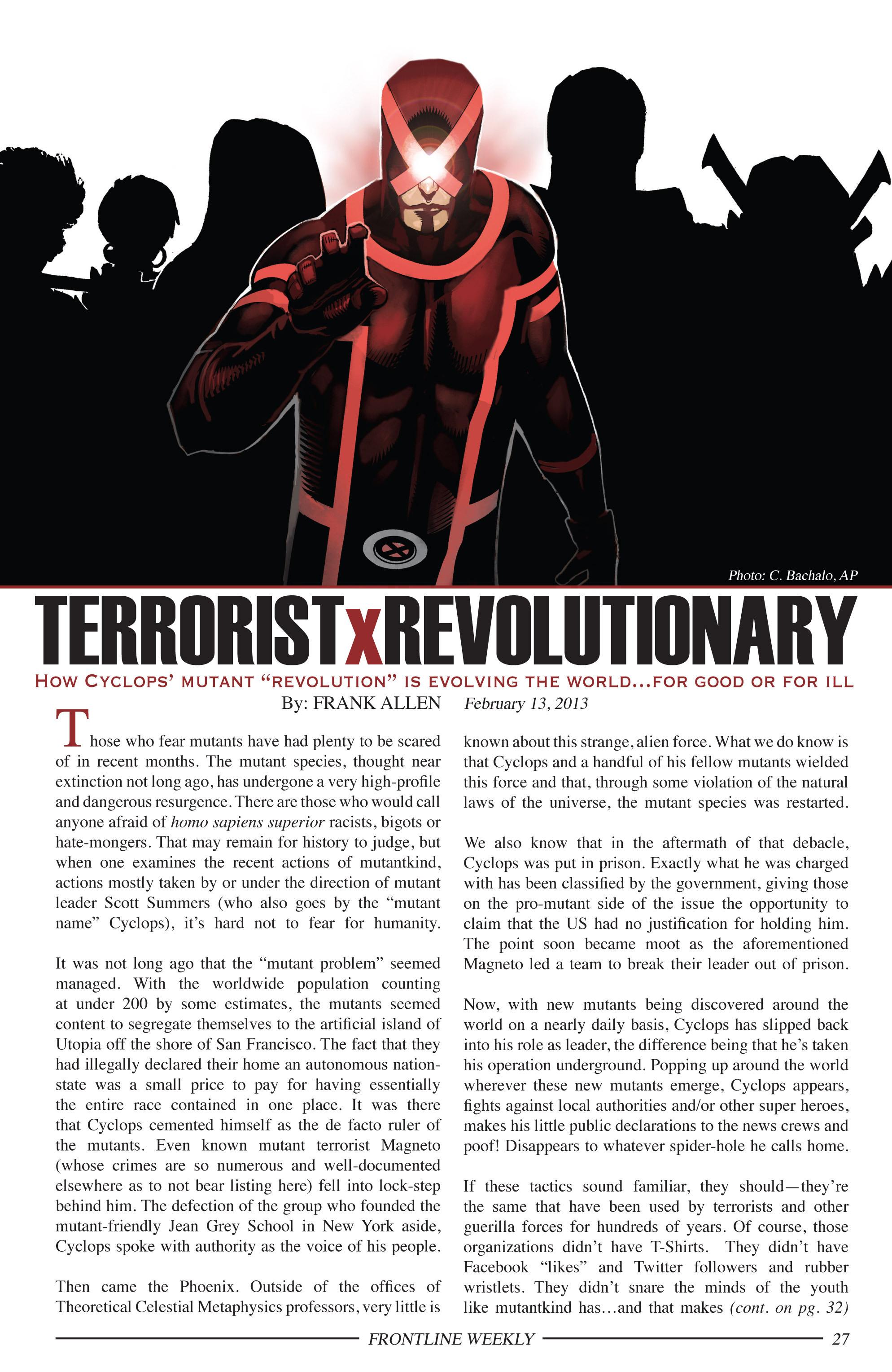 Read online Uncanny X-Men (2013) comic -  Issue # _TPB 1 - Revolution - 22