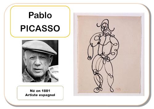 Picasso - Portrait d'artiste en maternelle