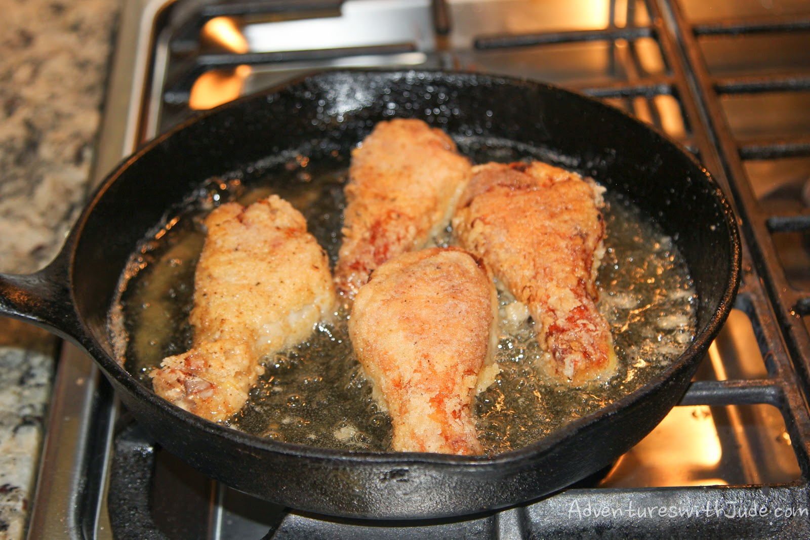 Fried Chicken Cast Iron Skillet