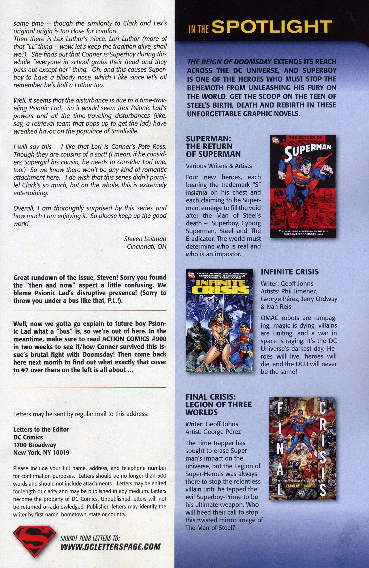 Superboy [I] Issue #6 #6 - English 26