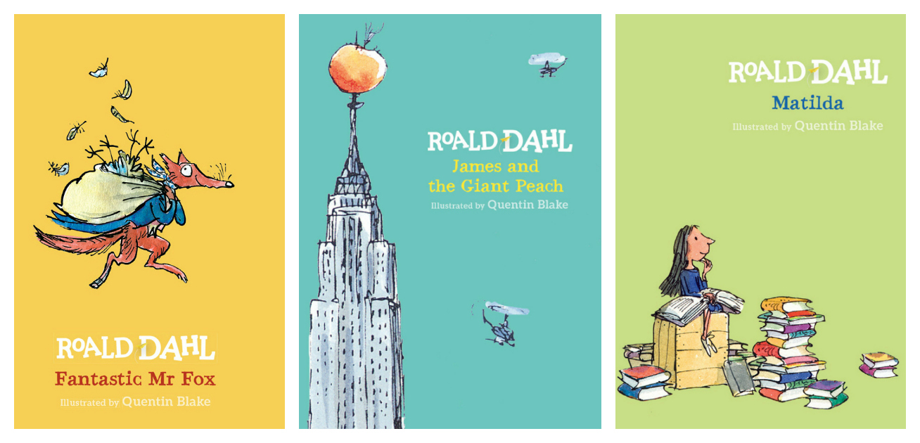 Roald Dahl 100 years new covers, Tatton Park Roald Dahl 100 competition, school competition