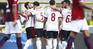Bologna vs AC Milan 1-2 Highlights