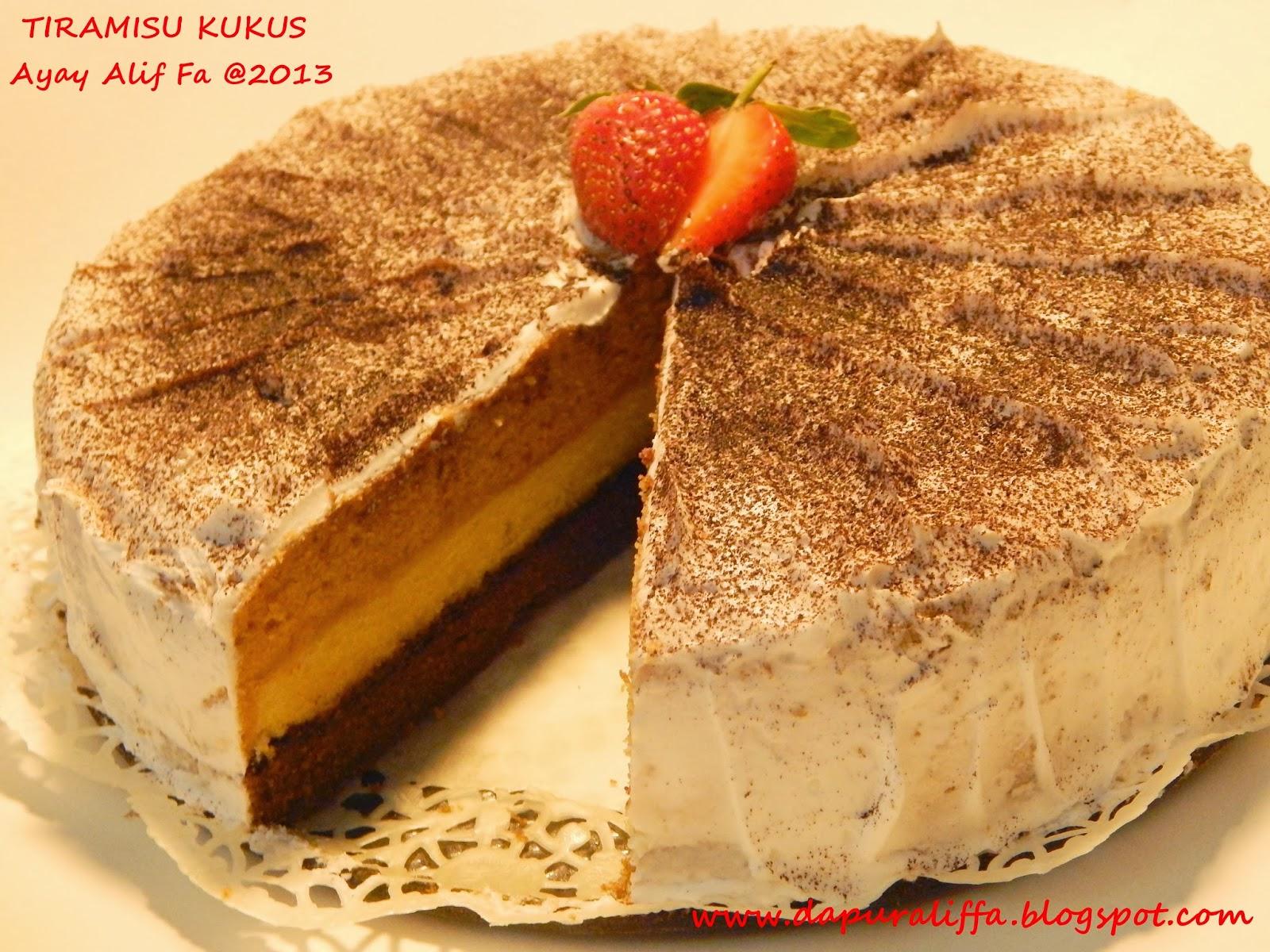 Resep Cake Tiramisu Jtt: TIRAMISU KUKUS Sajian Sedap Cakes