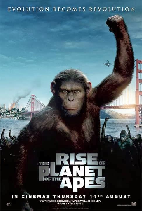 geneza planety małp film james franco