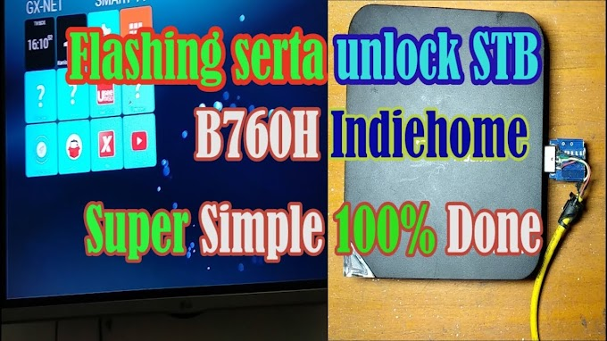 Firmware dan flashing STB ZXV10-B760H Full Unlock